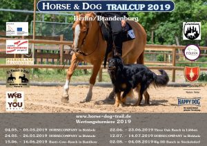 Horse & Dog- Trailcup