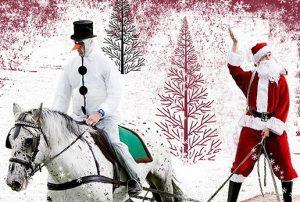 Neustädter Pferde im Advent